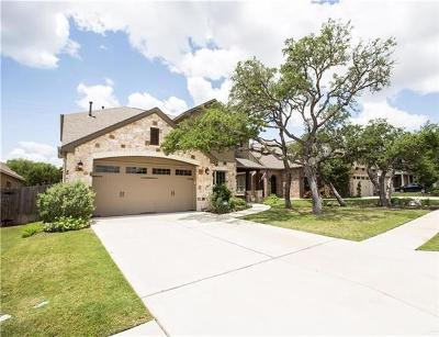 Cedar Park Single Family Home For Sale: 317 Gaspar Bnd