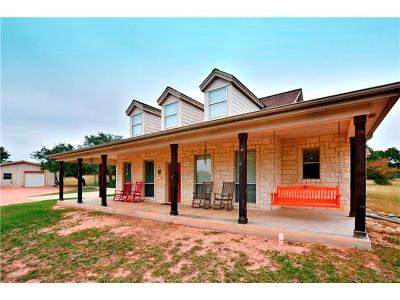 Williamson County Single Family Home For Sale: 1780 County Road 233