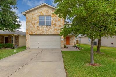 Manor Single Family Home For Sale: 12820 Saint Marys Dr