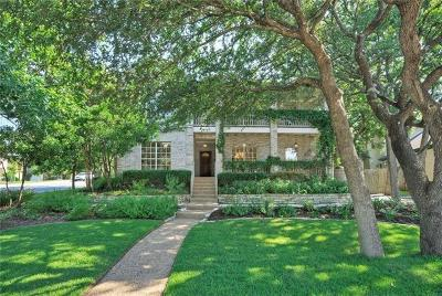 Hays County, Travis County, Williamson County Single Family Home For Sale: 7408 Rain Creek Pkwy