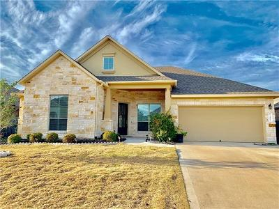 Pflugerville Single Family Home For Sale: 3400 Eagle Ridge Ln