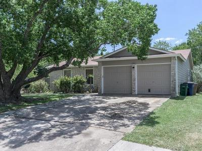 Hays County, Travis County, Williamson County Single Family Home For Sale: 3101 Barnsley Dr