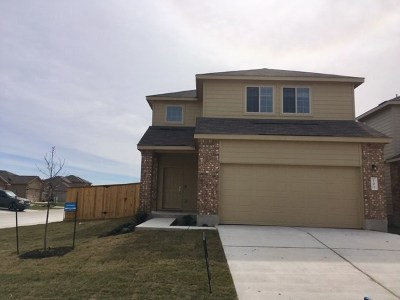 Jarrell Single Family Home For Sale: 101 Comet Dr