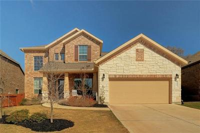 Cedar Park Single Family Home For Sale: 3003 Media Dr