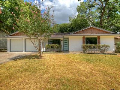 Austin Single Family Home For Sale: 7303 Langston Dr