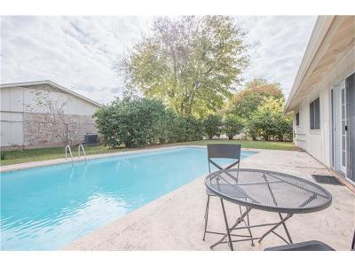 Travis County Single Family Home Pending - Taking Backups: 7005 Towering Oaks Dr