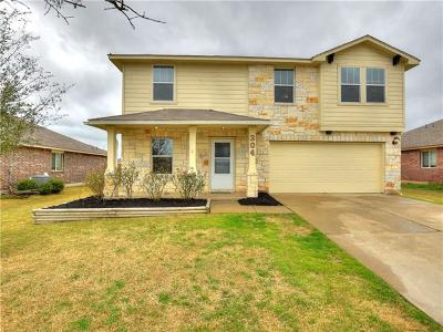 Bastrop County Single Family Home For Sale: 304 Pack Horse Dr