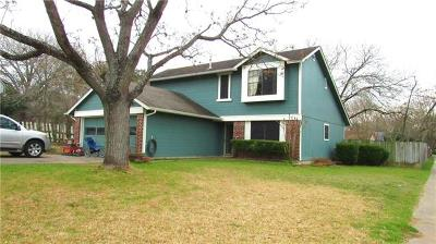 Hays County, Travis County, Williamson County Single Family Home For Sale: 1607 Cattle Cv