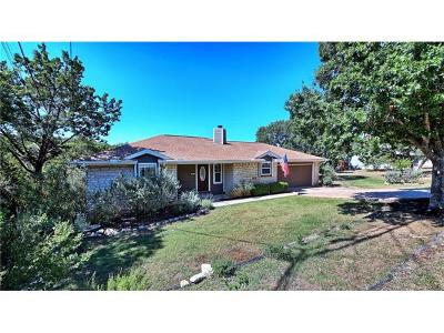 Lago Vista Single Family Home For Sale: 5613 Club House Dr