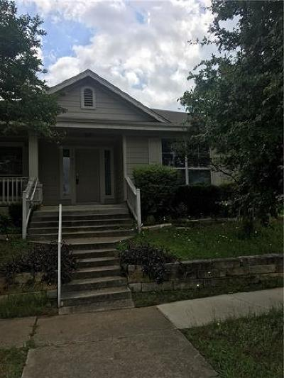 Round Rock Single Family Home Pending - Taking Backups: 1761 Thompson Trl