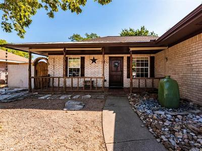 Leander Single Family Home For Sale: 816 Moon Glow Dr