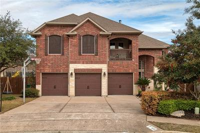 Cedar Park Single Family Home Pending - Taking Backups: 806 Darkwoods Ct