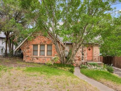 Austin Single Family Home Pending - Taking Backups: 1806 Travis Heights Blvd
