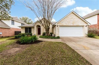 Travis County, Williamson County Single Family Home Pending - Taking Backups: 14812 Cordero Dr