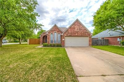 Georgetown Single Family Home For Sale: 112 Retama Dr
