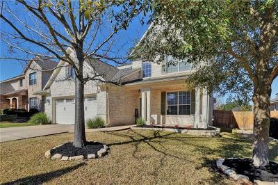 Cedar Park Single Family Home Pending - Taking Backups: 605 Hickory Run Dr