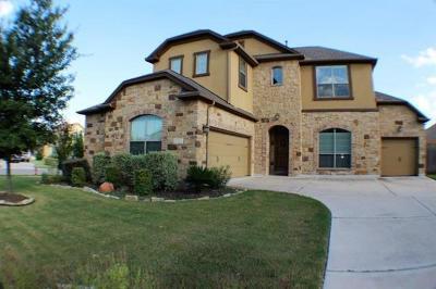 Round Rock Rental For Rent: 3072 Portulaca Dr