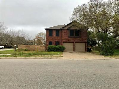 Pflugerville Single Family Home For Sale: 13605 Cambourne Dr