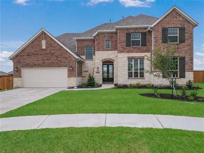 Round Rock Single Family Home For Sale: 3116 Margarita Loop