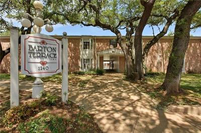 Austin Condo/Townhouse For Sale: 1240 Barton Hills Dr #111