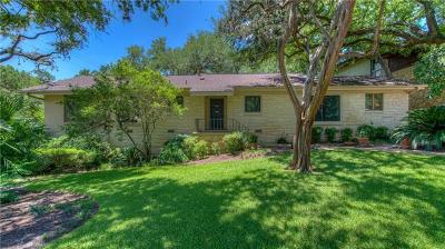 Travis County Single Family Home Pending - Taking Backups: 3401 Clearview Dr