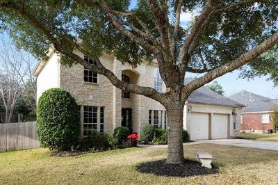 Cedar Park Single Family Home Active Contingent: 909 Whitewing Dr