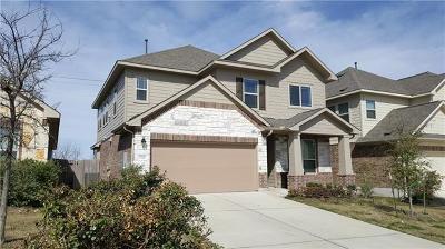 Pflugerville Single Family Home For Sale: 2520 Auburn Chestnut Ln