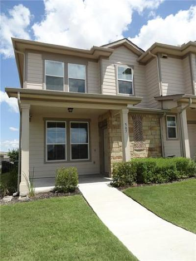 Pflugerville Rental For Rent: 507 N Heatherwilde Blvd
