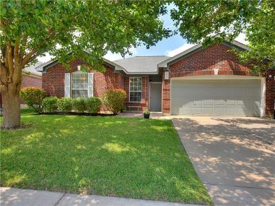 Pflugerville Single Family Home Pending - Taking Backups: 1900 Fast Filly Ave