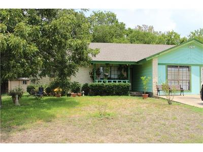 Pflugerville Single Family Home Pending - Taking Backups: 502 El Malino Dr