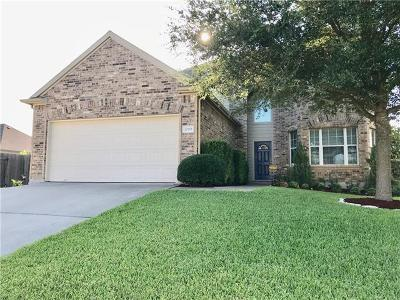 Pflugerville Single Family Home For Sale: 20901 Penny Royal Dr