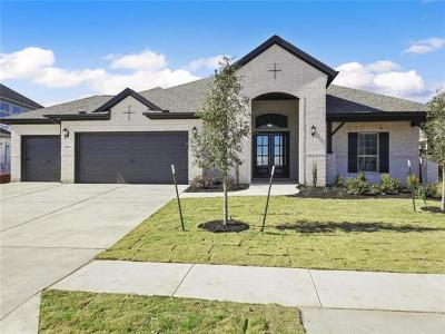 Round Rock Single Family Home For Sale: 3006 Brianza Pass