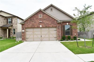 Pflugerville Single Family Home For Sale: 709 Screech Owl Dr
