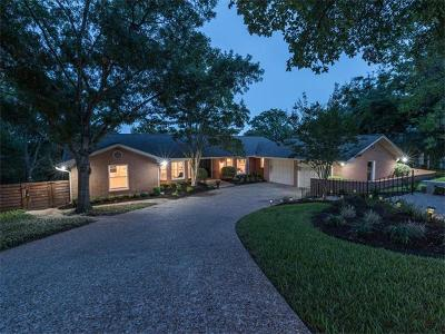 Austin Single Family Home For Sale: 3505 Mount Bonnell Rd