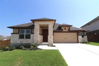 Round Rock Single Family Home For Sale: 2965 Consuelo Way