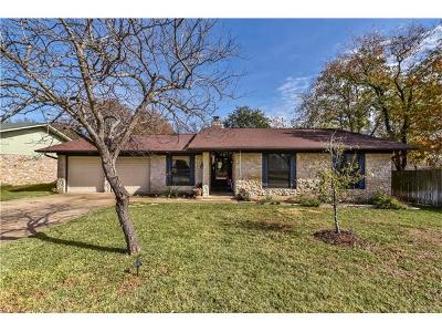 Round Rock Single Family Home For Sale: 601 Deepwood Dr
