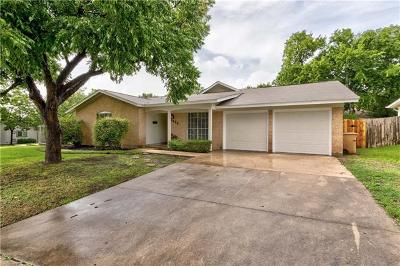 Travis County Single Family Home Pending - Taking Backups: 1415 Fairfield Dr