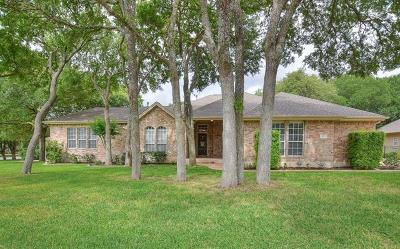 Georgetown Single Family Home Pending - Taking Backups: 102 Poppy Hills Cv