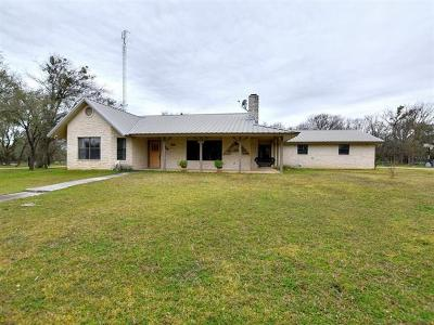 Lampasas County Single Family Home Pending - Taking Backups: 3360 Fm 3170