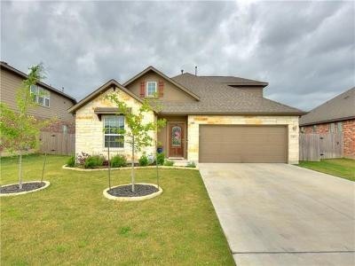 Round Rock Single Family Home For Sale: 8308 Paola St