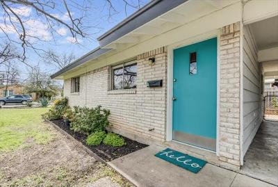 Austin Single Family Home For Sale: 1206 Brentwood St #A