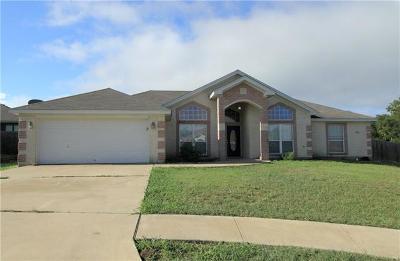 Killeen TX Single Family Home For Sale: $154,500