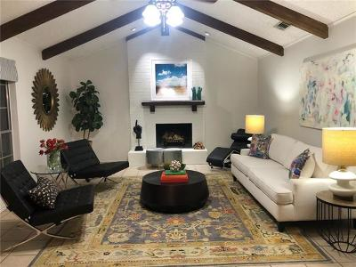 Round Rock Single Family Home For Sale: 1807 Egger Ave