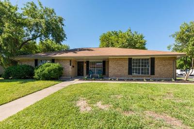 Travis County Single Family Home Pending - Taking Backups: 1011 Bob White Dr