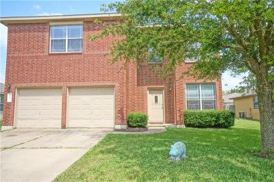 Hutto Single Family Home For Sale: 1010 Warbler Cv