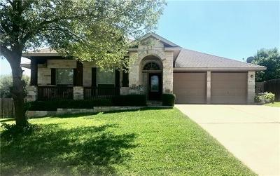 Round Rock Single Family Home Coming Soon: 4510 Aria Cv