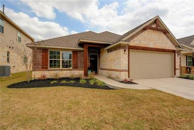 Round Rock Single Family Home For Sale: 8061 Arezzo Dr