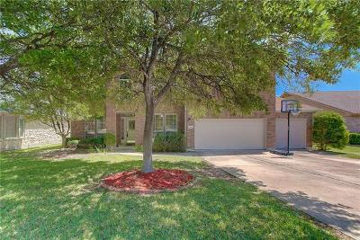 Round Rock Single Family Home Pending - Taking Backups: 16801 Judy Scholl Way