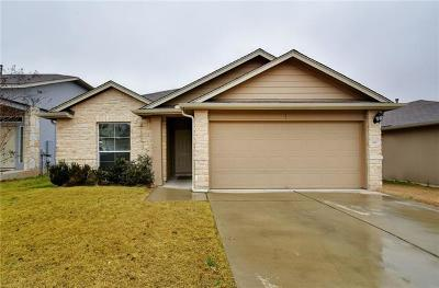 Hays County, Travis County, Williamson County Single Family Home Pending - Taking Backups: 6817 Plains Crest Dr