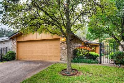 Travis County Condo/Townhouse For Sale: 4103 Tealwood